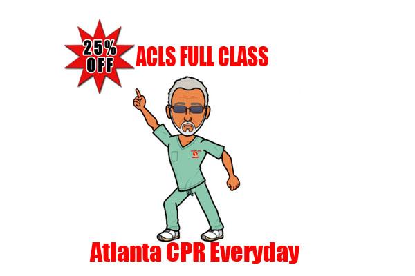 Atlanta CPR BLS Certification Training Classes Everyday Book Online