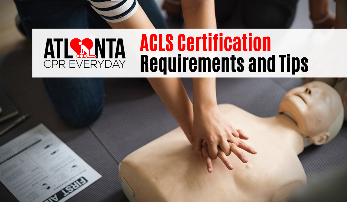 acls certification requirements and tips