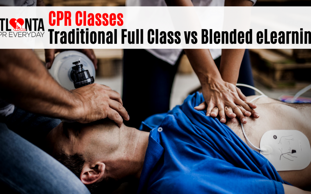 CPR Classes – Traditional Full Class vs Blended eLearning
